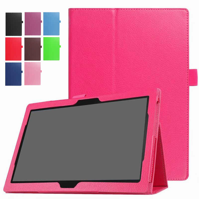 "TAB4 10 & 10 Plus Shockproof PU Lederen Flip Case Cover Voor Lenovo TAB 4 10 Plus 10.1 ""Tablet stand Smart cover Protector"