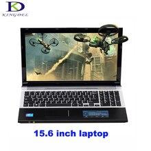 Классический стиль 15.6 дюймов ноутбук Intel Celeron J1900 Quad Core netbook HDMI USB3.0 WIFI Bluetooth DVD-RW домашнего компьютера 4 Г + 1 ТБ HDD