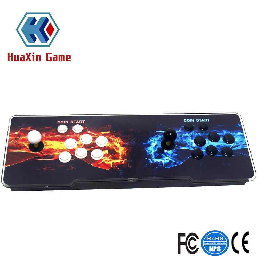 Игровая приставка 4S двойная палка 1399 игр 1280x720 Full HD 2 игрока с HDMI и VGA выходом -