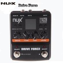 Vigor Unidade NUX Pedal de Guitarra Modelagem Stomp Simulator Pedal Efeito Guitarra Elétrica 10 Modelos de Alta Qualidade Acessórios de Guitarra