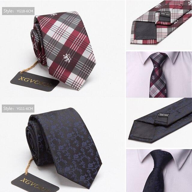 Men ties necktie Men's vestidos business wedding tie Male Dress legame gift gravata England Stripes JACQUARD WOVEN 6cm 5