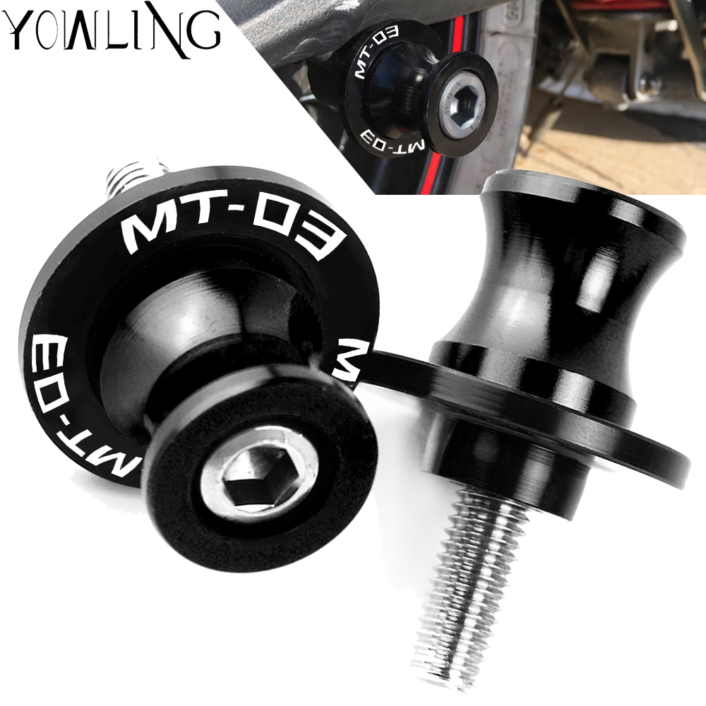 Motorcycle Swingarm Spools Slider Stand Screw For YAMAHA MT03 MT-03 2007 2008 2009 2010 2011 2012 2013 2014 2015 2016 2017 2018