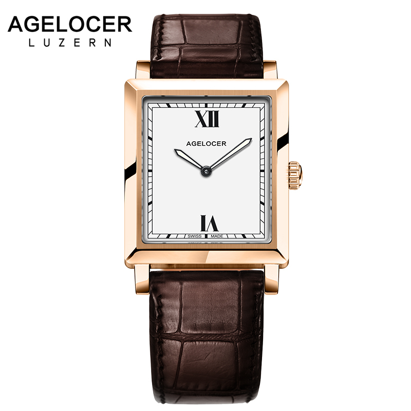Swiss Top Fashion Luxury Agelocer brand Woman Dress Watches Lady 6.2mm Ultra Thin Watch For Women Quartz Watch relogio feminino swiss fashion brand agelocer dress gold quartz watch women clock female lady leather strap wristwatch relogio feminino luxury