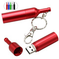 Metal mate botellas de vino rojo 8 GB 16 GB 32 GB 64 GB Usb 2.0 Pen Drive Pendrive Memory Stick U plato Puede Usb Flash Drive