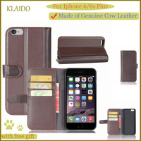 KLAIDO Flip Leather Mobile Phone Case For IPhone 6 Plus Case Wallet Case For Apple IPhone