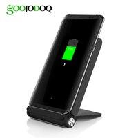 3 Spulen Schnelles Qi Wireless-ladegerät Dock für iPhone 8X7 6/8 Plus Samsung Galaxy S8 S7 S6 Rand Hinweis 5 Plus Handy Stand