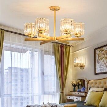 2019 Modern LED CRYSTAL chandelier lighting for living room Dining Room Study Kitchen Bathroom Foyer chandelier lamp