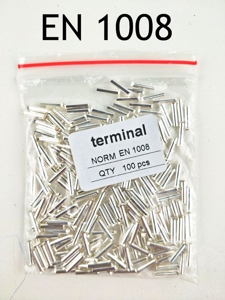 Hot Seller 100PCS 18AWG Bootlace cooper Ferrules kit set Wire Copper ...