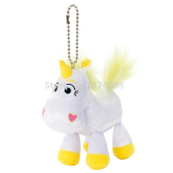 Us 10 9 Cute Toy Story Buttercup Unicorn Plush Pendant Toys Mini White Horse Stuffed Animals Keychains Key Chain Kids Gifts 10cm In Stuffed Plush