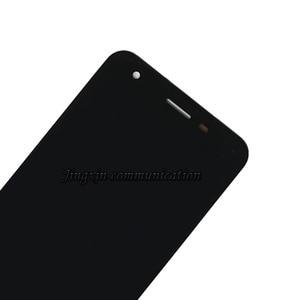 """Image 2 - Için zte Blade A506 LCD + dokunmatik ekran bileşenleri siyah ve beyaz için yüksek kaliteli yedek zte Turkcell T70 5.2 """"ekran"""