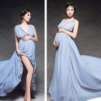 マタニティ写真小道具ガウンマタニティードレス用写真撮影結婚式のイブニングドレスの妊婦