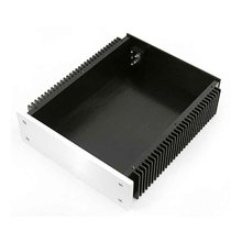 Boîtier amplificateur boîtier KYYSLB BZ2307 226.5*70*271 MM Home Audio châssis amplificateur tout aluminium refroidissement des deux côtés avec borne RCA