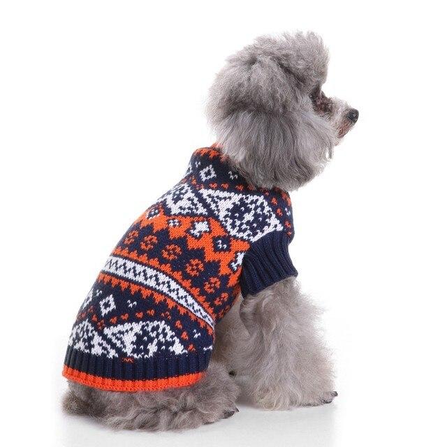 Aliexpress.com : Buy Winter Pet Dog Sweater Christmas Nordic Fair ...