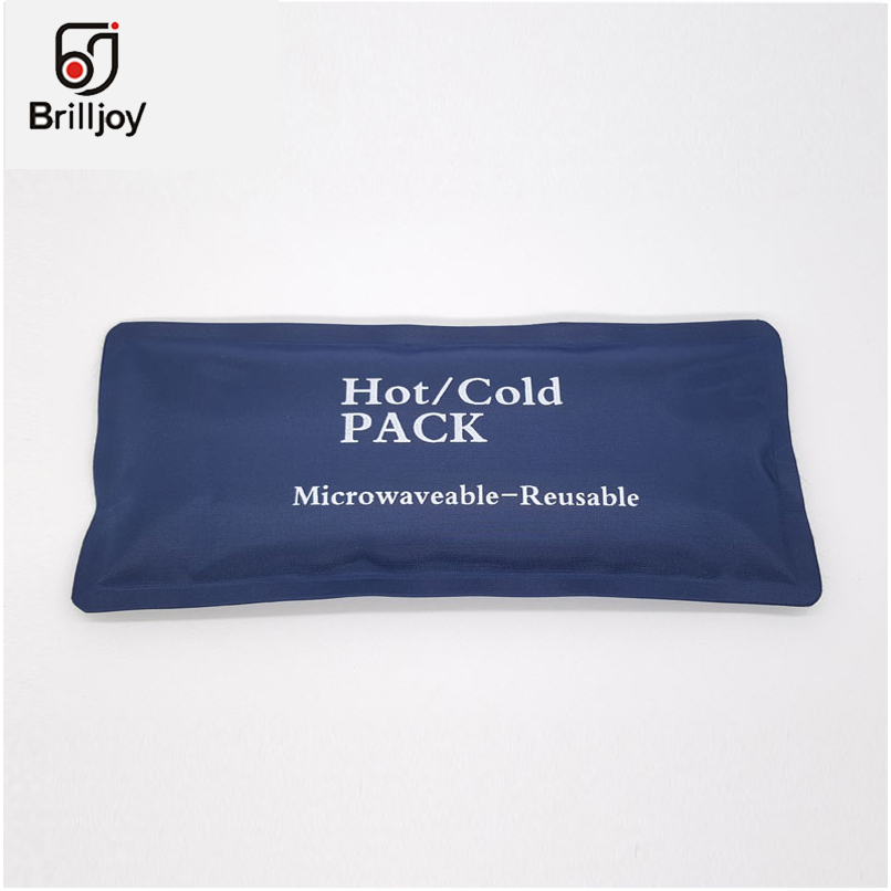 Brilljoy Insulin Refrigerated Ice Gel 2 PC Reusable Hot /Cold Heat Gel Ice Non Toxic Pack Sports Muscle Relief Child Cooling Bag