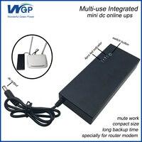 Ricaricabile souce alimentazione 30 W 12 V 3A mini ups batteria di backup uninterruptible power supply per piccolo computer