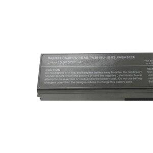 Image 5 - GZSM laptop batterie PA3817U 1BAS für TOSHIBA PA3817U 1BRS batterie für laptop L700 L730 L735 L770 L740 L745 L750 L755 batterie
