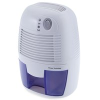 INVITOP Mini Portable 500ML Dehumidifier For Home Moisture Absorbing Air Dryer With Auto Off And LED