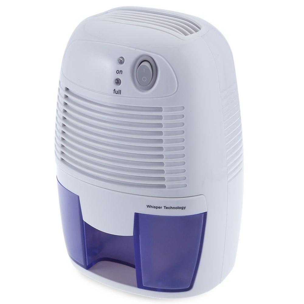 Invitop mini deshumidificador para el hogar portable 500 ml absorción de humedad secador de aire con apagado automático y LED indicador de aire deshumidificador