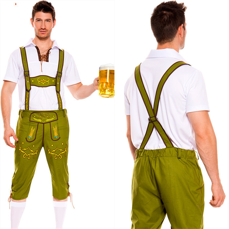 munich oktoberfest mens clothing nightclub bar male waiter bartender halloween costume dress in anime costumes from novelty special use on aliexpresscom - Male Costumes Halloween