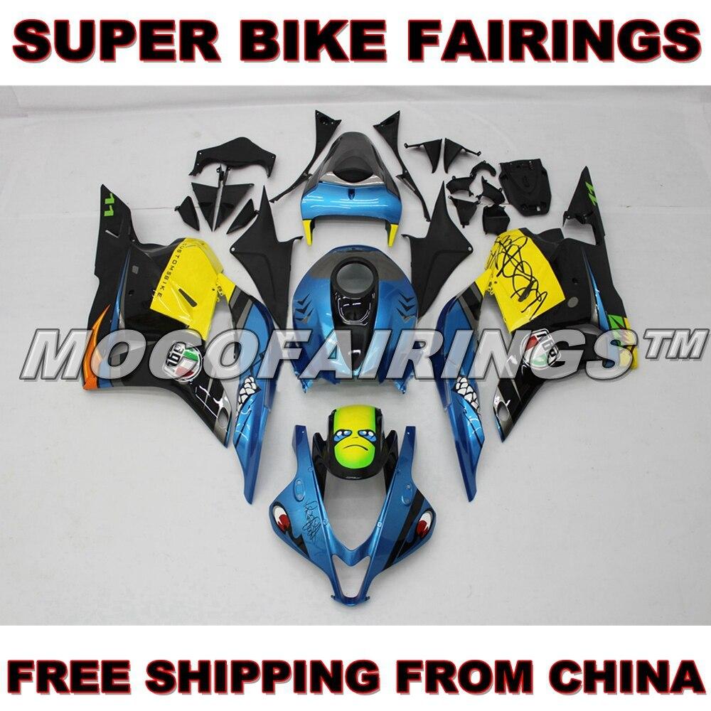 Motorcycle Fairing For Honda CBR600RR 2009 2010 2011 2012 ROSSI VR46 Custom Design Fairings Kit mae эспадрильи