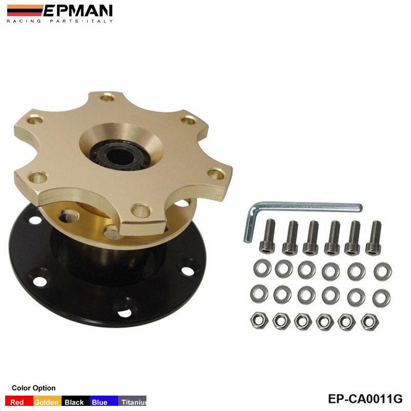 Быстроразъемный адаптер ступицы подходит для автомобильного спортивного рулевого колеса для сиденья 2001-2006 EP-CA0011G