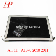 "100% Genuine New 2011 Year A1370 LCD Screen Assembly For Apple Macbook Air 11"" A1370 LCD Assembly 1366*768 MC968 MC969"