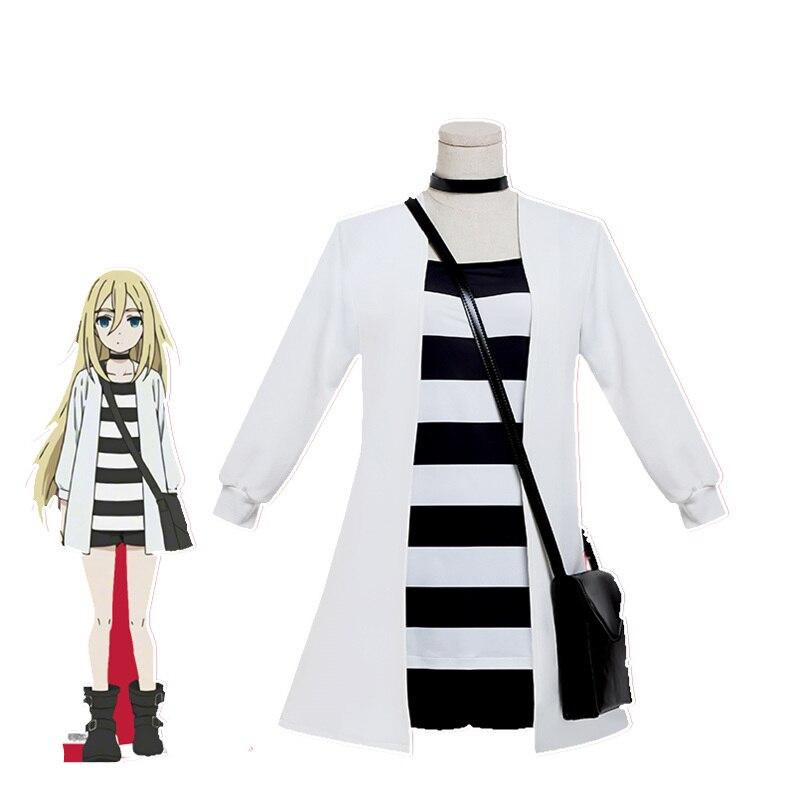 Anime Game Angels of Death Cosplay Rachel Gardner Halloween Cos Man Woman Cosplay Costume Full Set