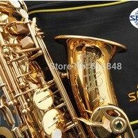 Wholesale Copy France Henri Selmer Alto Saxophone Reference 54 Electrophoresis Gold