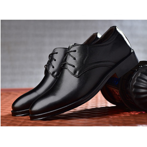 Image 5 - Reetene新しい男性の革靴ビジネスメンズドレスシューズファッションカジュアル結婚式の靴快適な指摘色の男性の靴