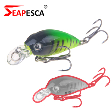 SEAPESCA Sizzling Modal Crank Fishing Lure 40mm 3.5g Synthetic Baits 3D Eyes Wobblers Skilled Fishing Pesca Deal with YA50