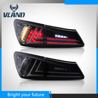 Car Rear Lamp For Lexus IS250 IS350 IS F LED Tail Lights 2006 2007 2008 2010 2012 Red and Black Lens with Reverse