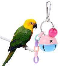 Pet birds parrot bite puzzle wear intelligence development toy interactive hanging swing climbing toy