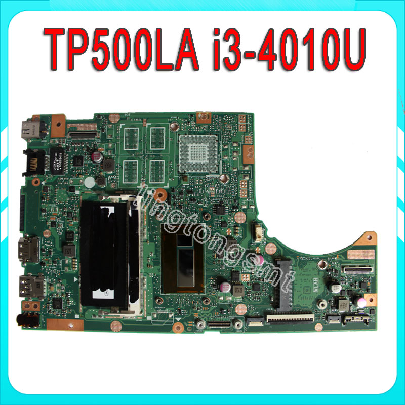 все цены на Original For ASUS Motherboard TP500L TP500LA TP500LN REV2.0 With I3-4010U Intergated Memory On Board 100% tested онлайн