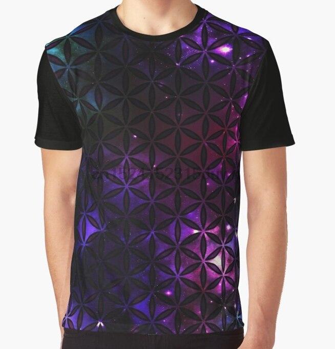 816d1452680 All Over Print T-Shirt Men Funy tshirt Sacred Geometry Flower Of Life  Cosmos I