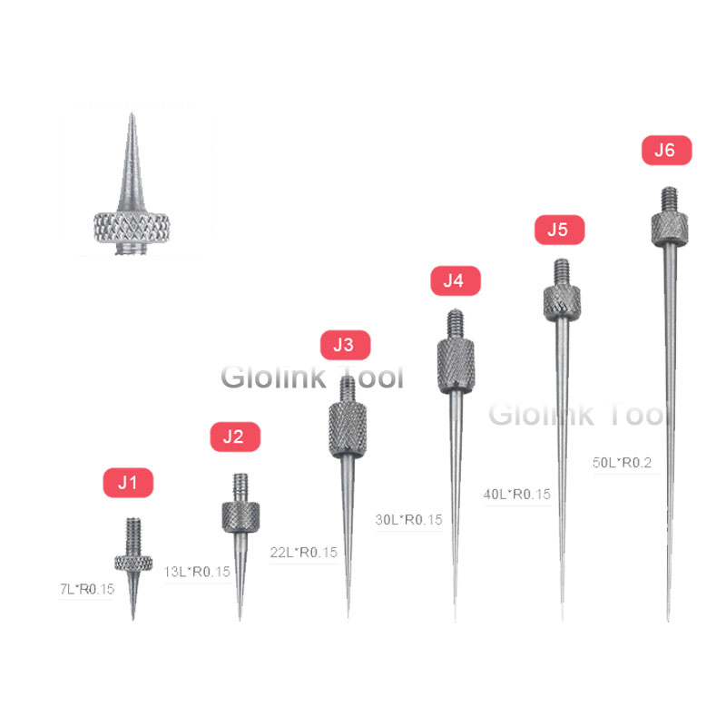 1Pcs Carbide Indicator Contact Points For Interapid Mitutoyo Dia 2mm Thread M1.6