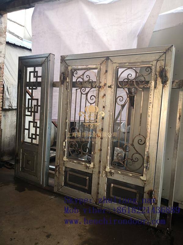 Whole Sale Best Iron Doors Iron Double Doors Iron Doors Best Price For Sale  Hc53