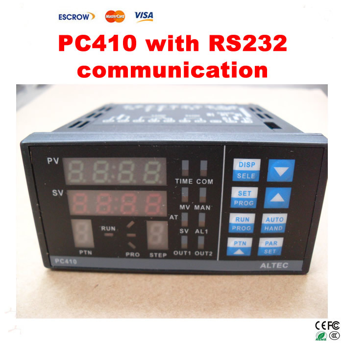Free Shipping! Temperature Control Panel PC410 with RS232 Communication Module for BGA rework station free shipping ch6 temperature control panel for ir6000 ir9000 bga rework station