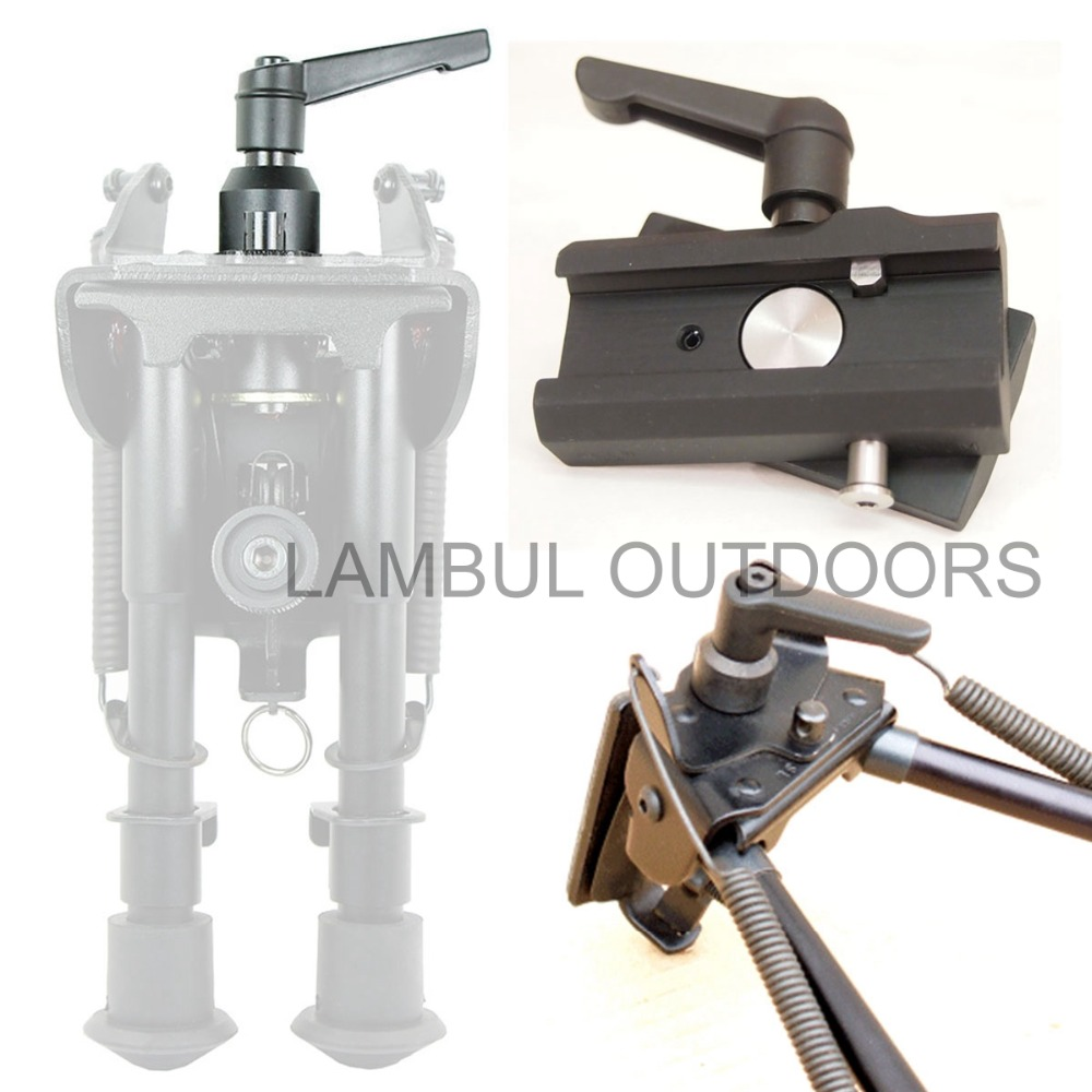LAMBUL Quick Adjust Swivel k for Harris Bipods Pod- Hunting Shooting Gun Bipod Accessories