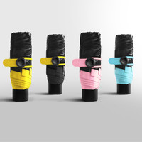 NEW Personal Mini Pocket Umbrella Sunny And Rainy Five Folding Umbrellas Free Shipping