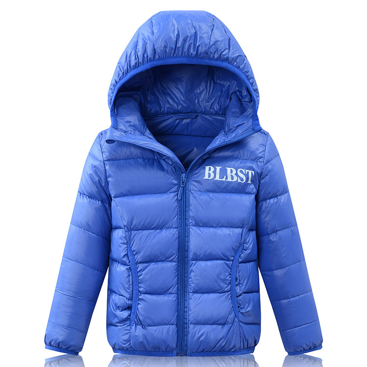 90% Duck Down Jacket 2018 Winter New Ultra light Boys Warm Hooded Down Coats For Girls 2-16Y Down Outerwear 2015 men fall winter duck down jacket ultra light thermal fashion travel pocketable portable thin sports duck coats outerwear 4