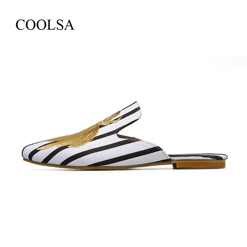 579090109 COOLSA-Women-Summer-Outdoor-Flat-Toe-Covered-Slippers-Women-Fashion -Embroidery-Flock-Bee-Slippers-Women-Pointed.jpg
