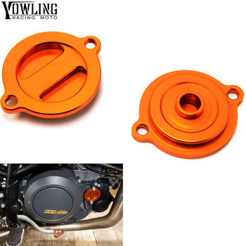 For KTM 125 200 390 690 Duke RC 200 390 2013 2014 2015 2016 2017 Motorcycle Accessories CNC Engine Oil Filter Cover Cap image