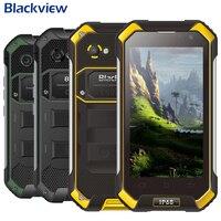 Blackview BV6000 смартфон 4G LTE Водонепроницаемый IP68 4,7 HD MT6755 Восьмиядерный мобильный телефон с Android 6,0 3 ГБ Оперативная память 32 ГБ Встроенная память