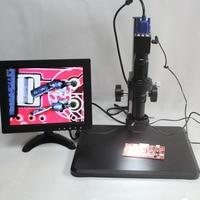 2.0MP 30fps промышленный цифровой микроскоп с камерой VGA Выход 10X 200X C mount объектив тонкой настройки ремонт верстак гироборд с колесами 8 дюймов мо