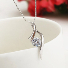 New Arrival 925 Sliver Chic Round Pendant Necklace Without Chain DIY Accessories Women Charm Jewelry