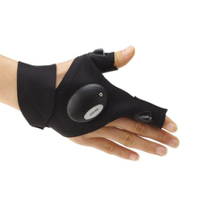 Breathable Hand Fishing Glove with LED Light