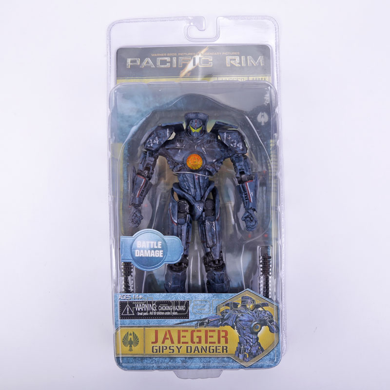 NECA Pacific Rim Jaeger Gipsy Danger Hong Kong Brawl / Anchorage Attack / Battle Damage PVC Action Figure Collectible Model Toy neca pacific rim jaeger coyote tango pvc action figure collectible model toy 7 5 19cm free shipping