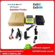 Freesat v8 finder numérique finder 3.5 pouce LCD numérique satFinder DVB-S2 MPEG-4 Livraison sam v8 satellite Finder satlink ws-6933