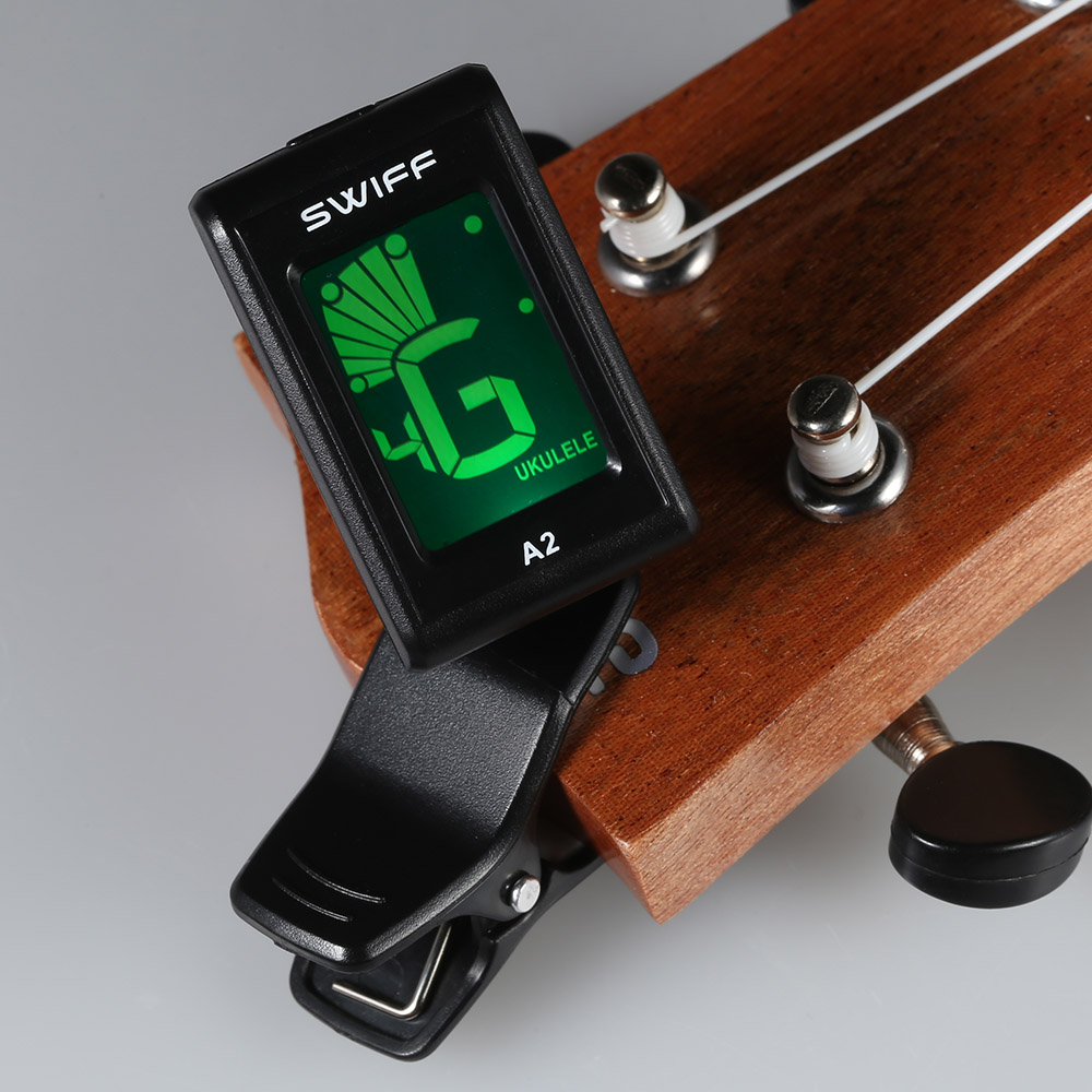 Hot Selling 360 Mini Lcd Clip Tuner Chromatic Clip-on Digital Tuner For Acoustic Electric Guitar Bass Violin Ukulele Accessories & Parts Chargers