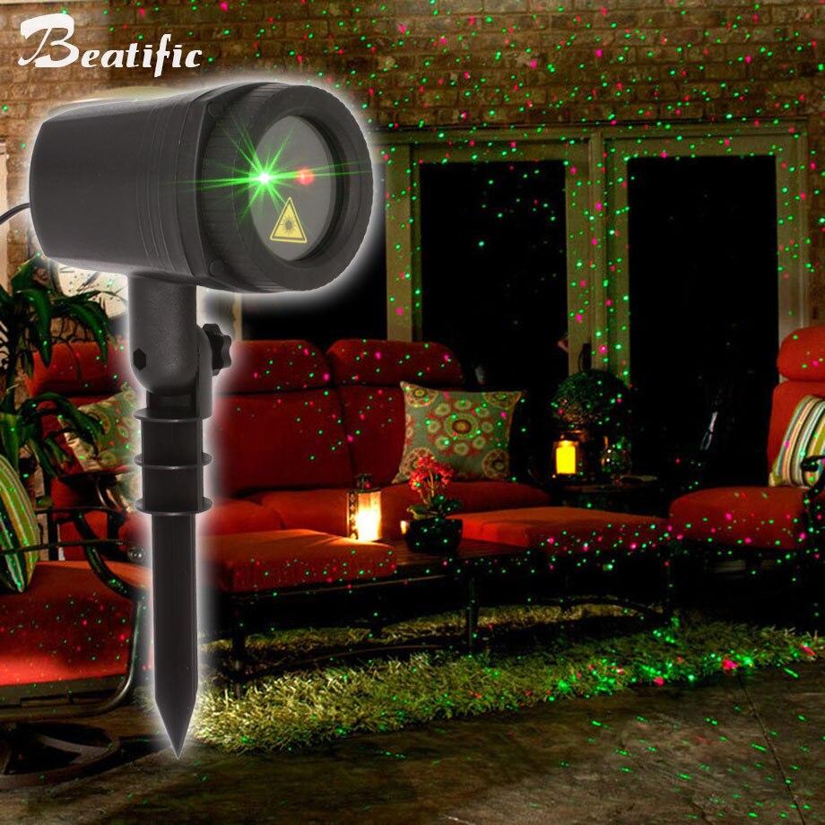 Mouvement Lumières De Noël En Plein Air Projecteur Laser De Douche Pour La Maison Décorations Nouvelle Année de Vacances Fée Lumière Avec RF À Distance